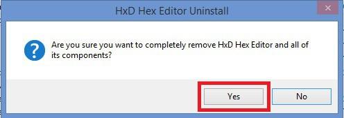 Uninstall 2- Windows 8