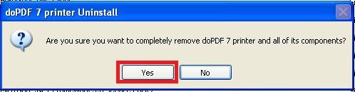 Uninstall - Windows XP