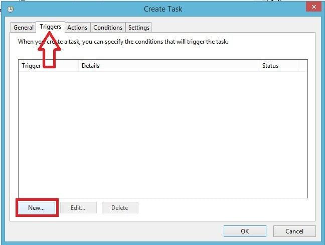 FreeFileSync - Crear respaldo de archivos - Tarea Triggers