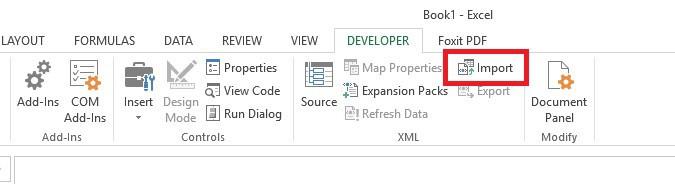 Importar XML a Excel - 4