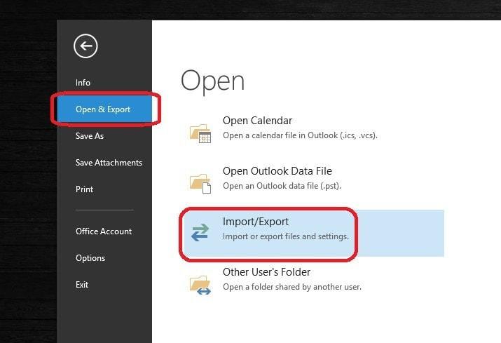 Importar Respaldo de Outlook al Mailbox - 2