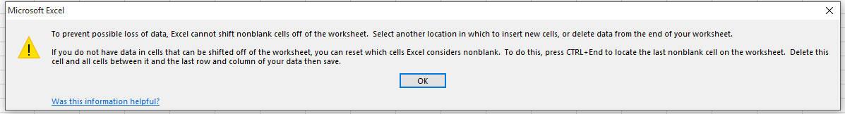 excel-mensaje-error-escel-no-puede-desplazar-fuera-de-la-hoja-de-calculo-celdas-que-no-estan-en-blanco