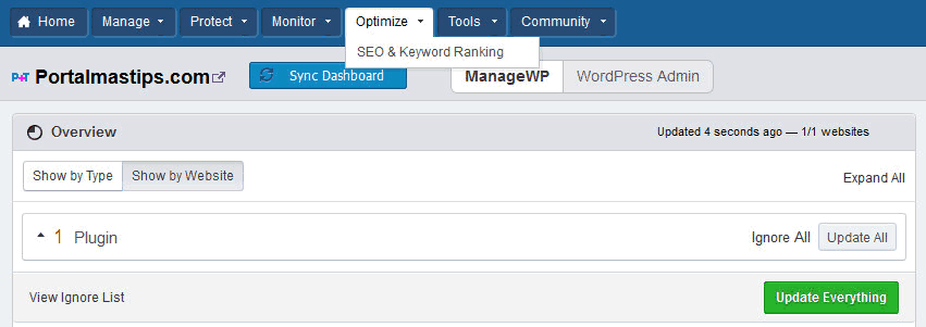 bluehost-managewp-optimize