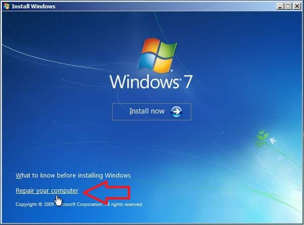 3 windows 7 bootmgr is missing reparar