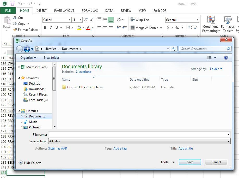 VBScript - Crear inventario de red local automático en Excel 4