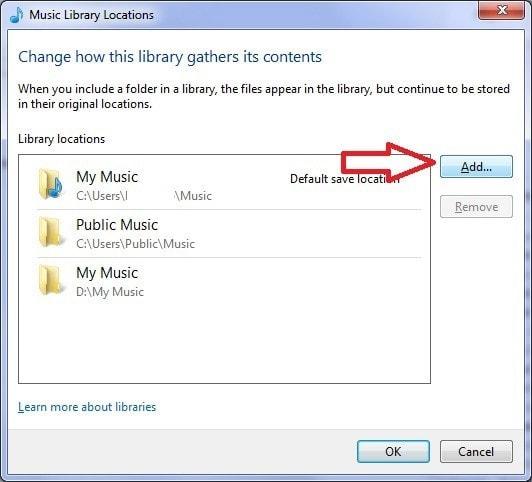 WMP - Error (Library Files Show Unresponsive) en la librería de música 3