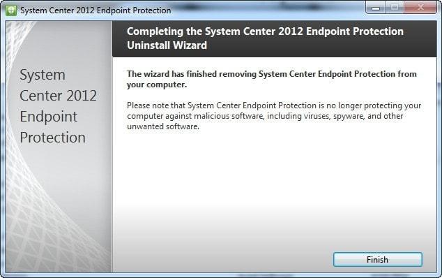 Desinstalar 2 - Instrucciones para desinstalar System Center 2012