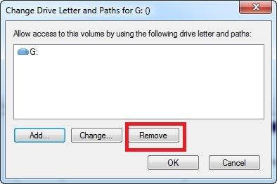 Quitar Letra De Unidad Remove