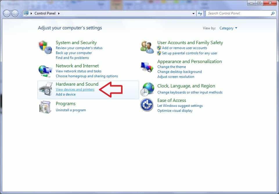 Reinstalar, eliminar o actualizar driver de impresora manualmente en Windows 7 2