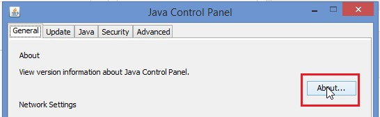 Java Control Panel 2