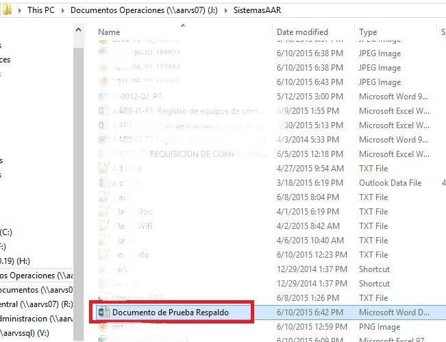 FreeFileSync - Crear respaldo de archivos - Prueba satisfactoria