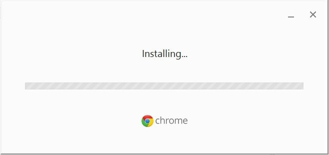Proceso Instalacion Chrome