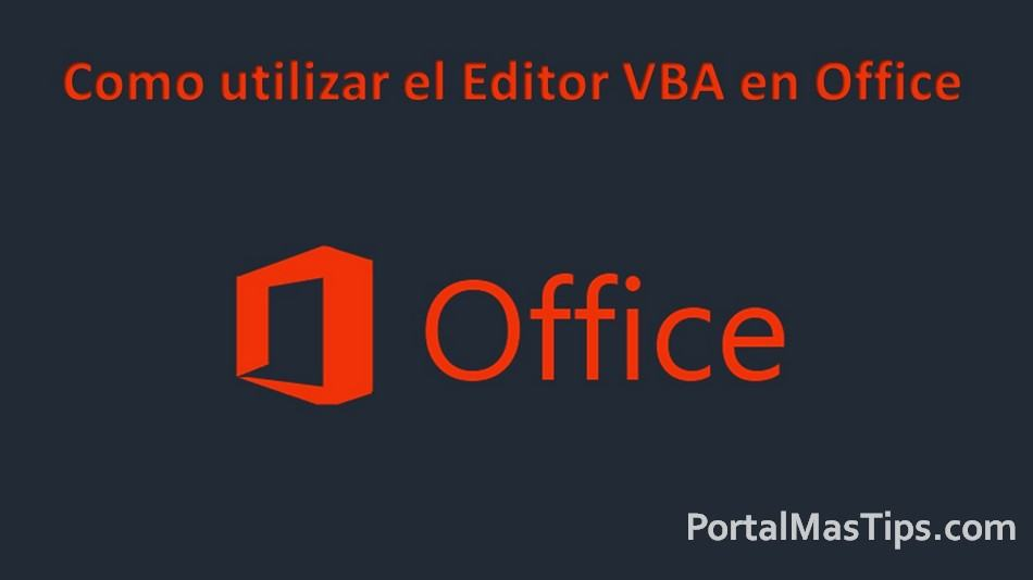 Como utilizar el Editor VBA en Office (Utilizar Macros VBScript) 4