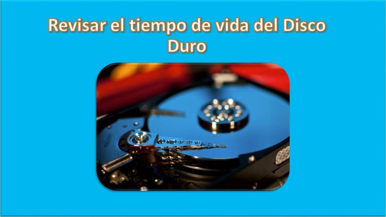 Revisar temperatura, tiempo de vida, estado del disco duro (HDD/SSD), etc... - Logo Revisar Tiempo de Vida Del Disco Duro