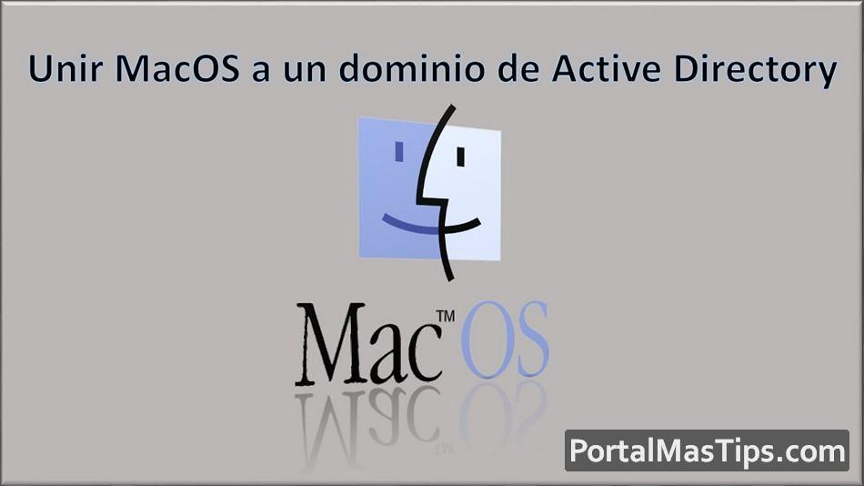 Unir MacOS a un dominio de Active Directory para autenticación de usuario - Logo Unir MacOS a un Dominio Active Directory