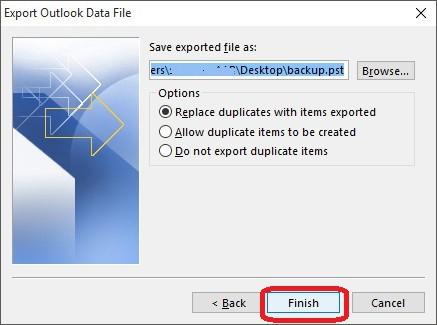 Respaldar Correo en Outlook 2013 - 6
