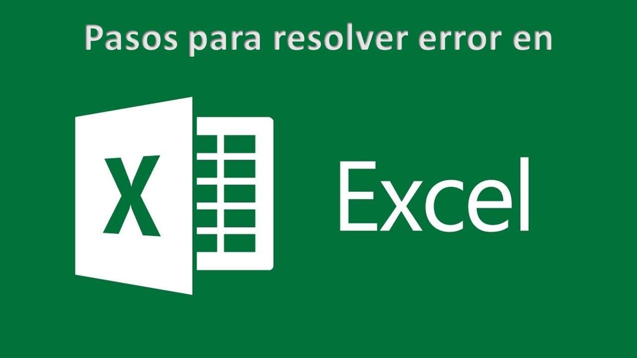 Excel - Error