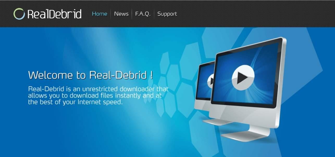 Reseña Real-Debrid - Multihoster downloader (Generador de Links Premium) - Logo RealDebrid
