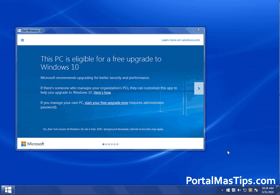 Desactivar actualización automática a Windows 10 - Windows 7 y 8 8