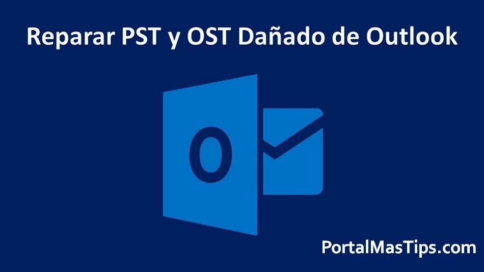 Recuperar correos de archivo PST dañado de Outlook 8