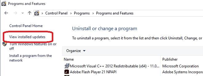 programas-y-caracteristicas-control-panel