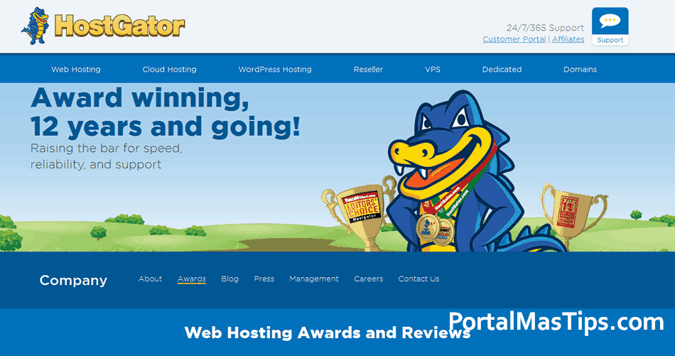 Hostgator - Reseña plan Web Hosting Business - Logo Hostgator