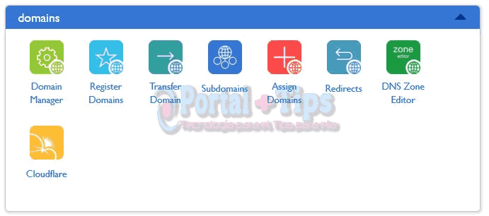 bluehost-cpanel-domains-menu