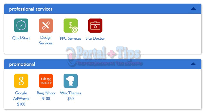 bluehost-cpanel-services-promotional-menu
