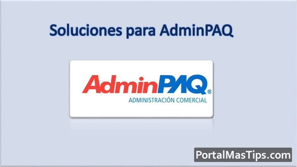 AdminPAQ - Solución error AdminPAQ Access violation at address 4006A3BC in module 'VCL50.BPL'. Read of address 00000047. 6