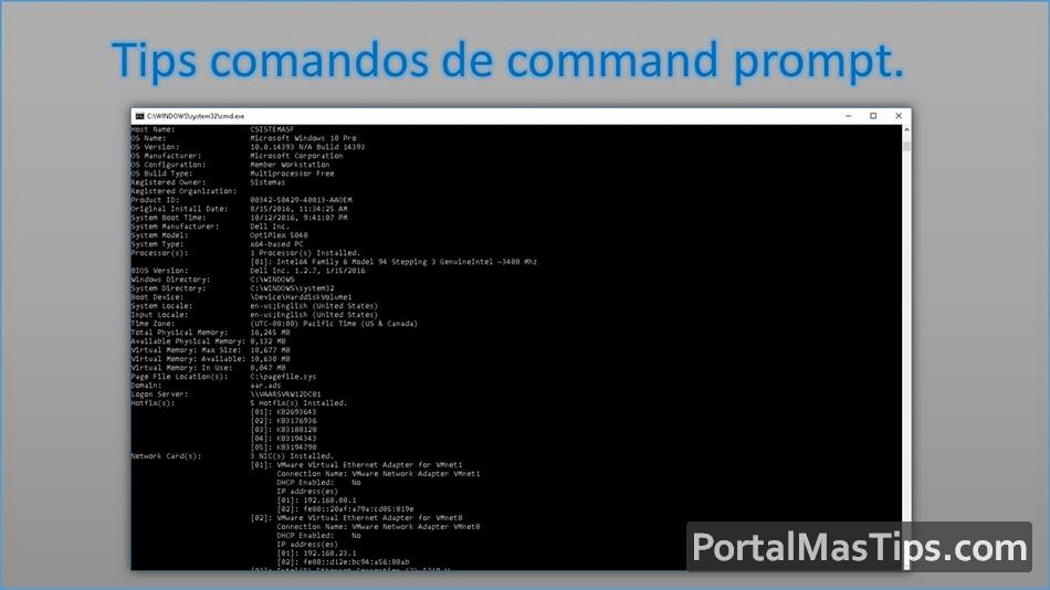 Comando Robocopy - Copiar solo archivos nuevos / modificados (Sincronizar) - Logo Tips comandos de Command Prompt 1
