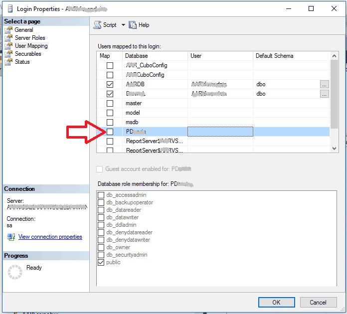 ODBC - Mi base de datos no aparece en el listado de bases de datos a seleccionar 4