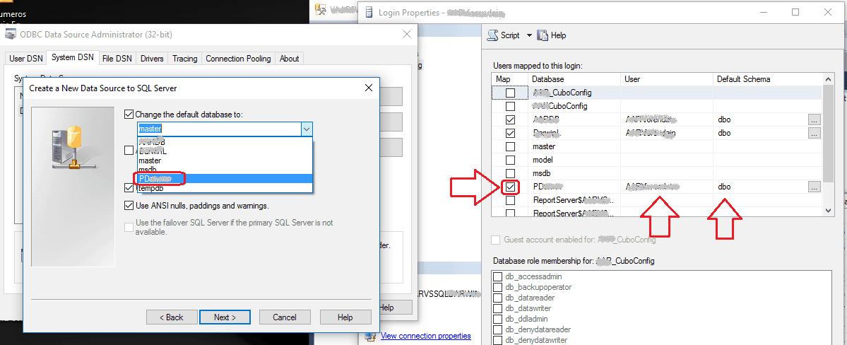 ODBC - Mi base de datos no aparece en el listado de bases de datos a seleccionar 5