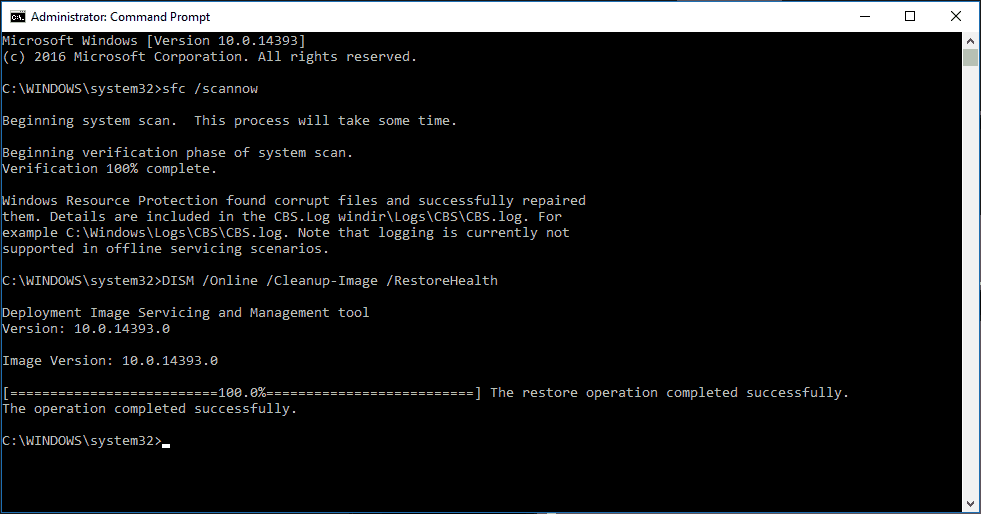 Windows - Reparar archivos corruptos del sistema con SFC y DISM 3