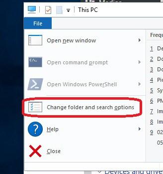 Windows 10 - El explorador de archivos carga lento los archivos de la carpeta 5