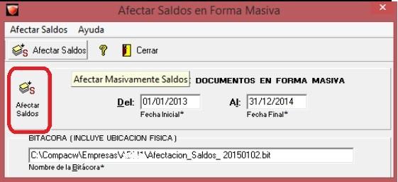 AdminPAQ - Existen documentos sin afectar,el proceso deCierreno podrá llevarse a cabo 3