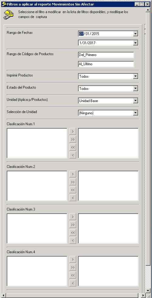 AdminPAQ - ReporteMovimientos sin Afectar - Verificar informacion - AdminPAQ Reporte Movimientos Sin Afectar