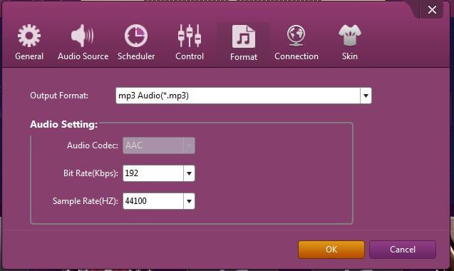 Leawo music recorder grabar audio formato de audio