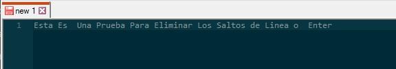 NotePad++ - Buscar y remplazar Enters (Saltos de Linea) en un texto 3