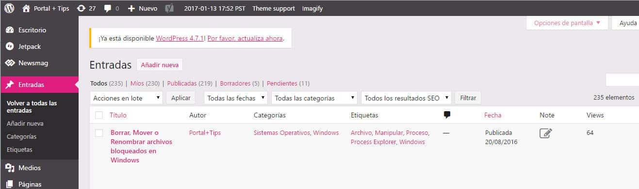 Wordpress - Como personalizar esquema de colores del panel ...