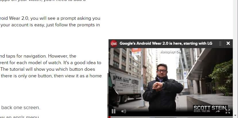 Evitar que se reproduzcan videos automaticamente en firefox ejemplo