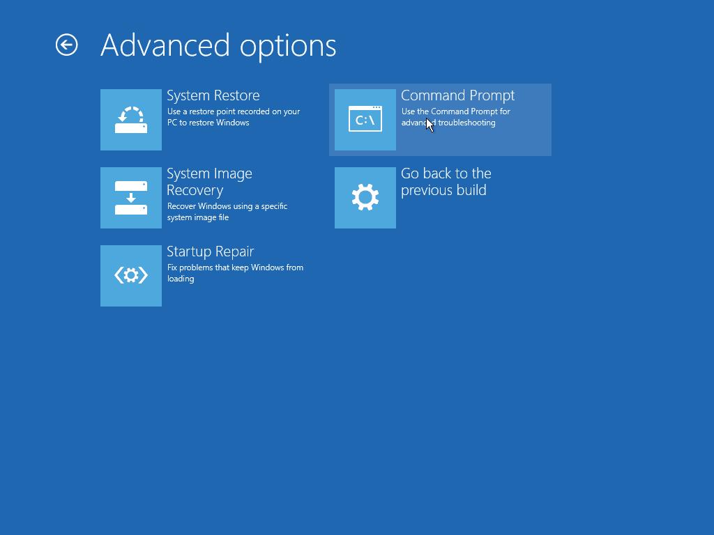 Windows 10 crear disco de recuperacion opcion