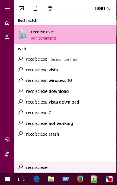 Windows 10 crear disco de reparacion
