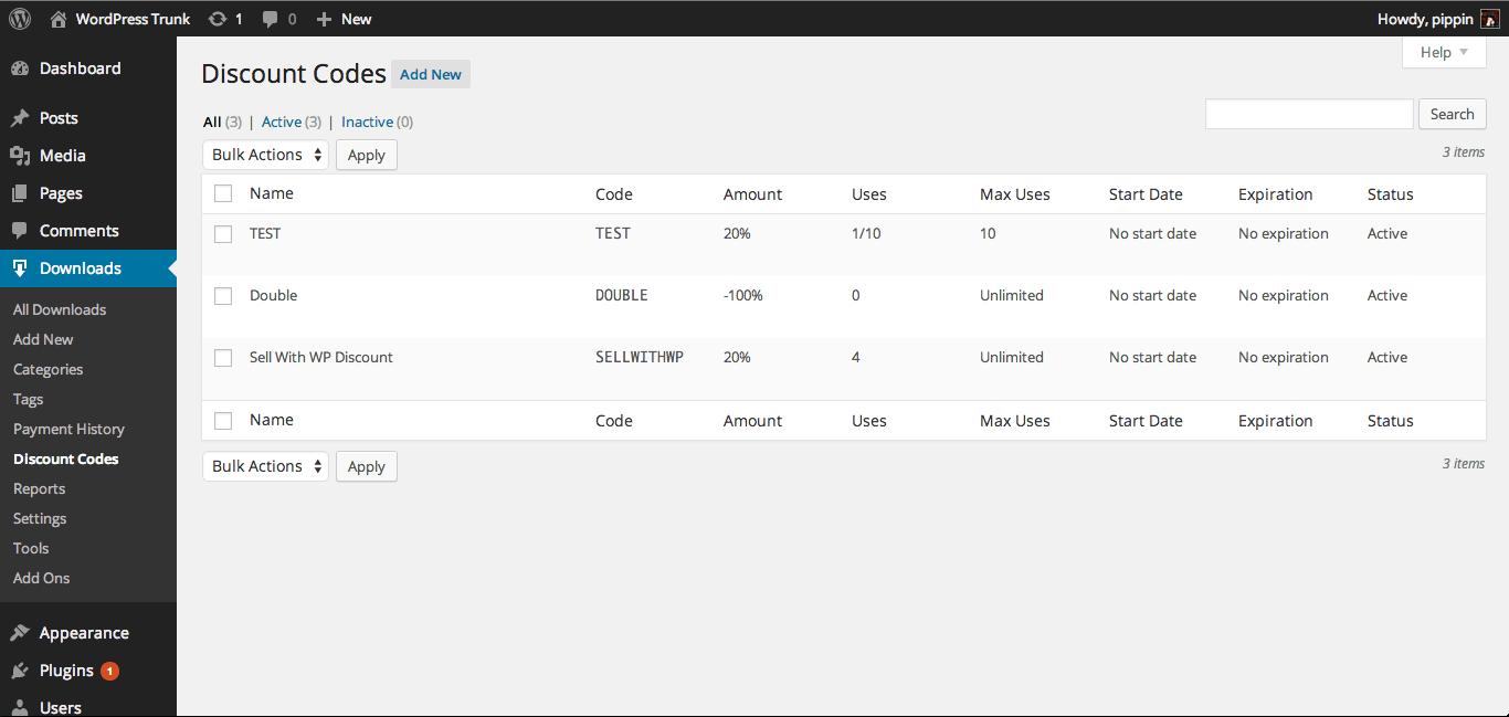 Easy digital downloads cupones de descuento