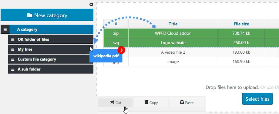 Wp file download joomunited ejemplo ordenar 2