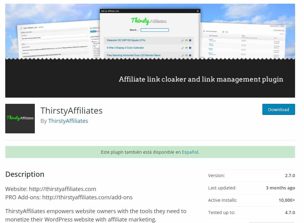 Thirstyaffiliates repositorio