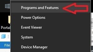 Desinstalar, revertir actualización de Windows 7, 8 y 10 3