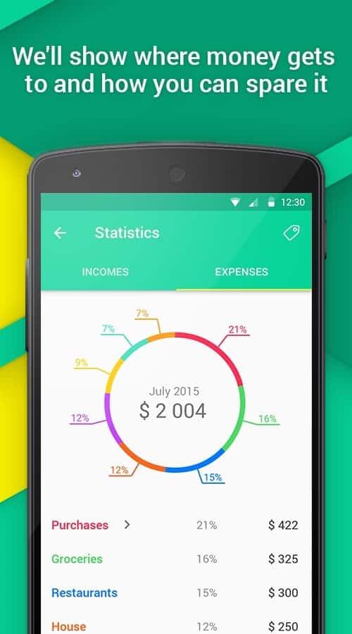 CoinKeeper - Estadísticas