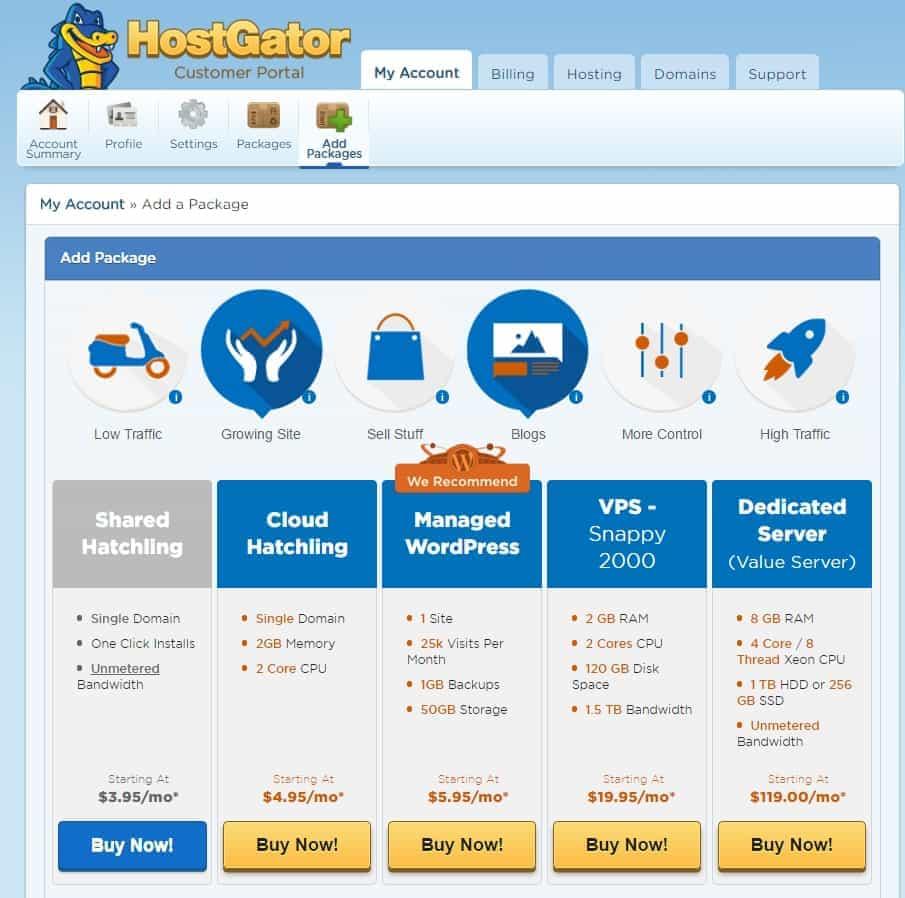 Reseña Hostgator Cloud Hosting y Muestra del cPanel 6