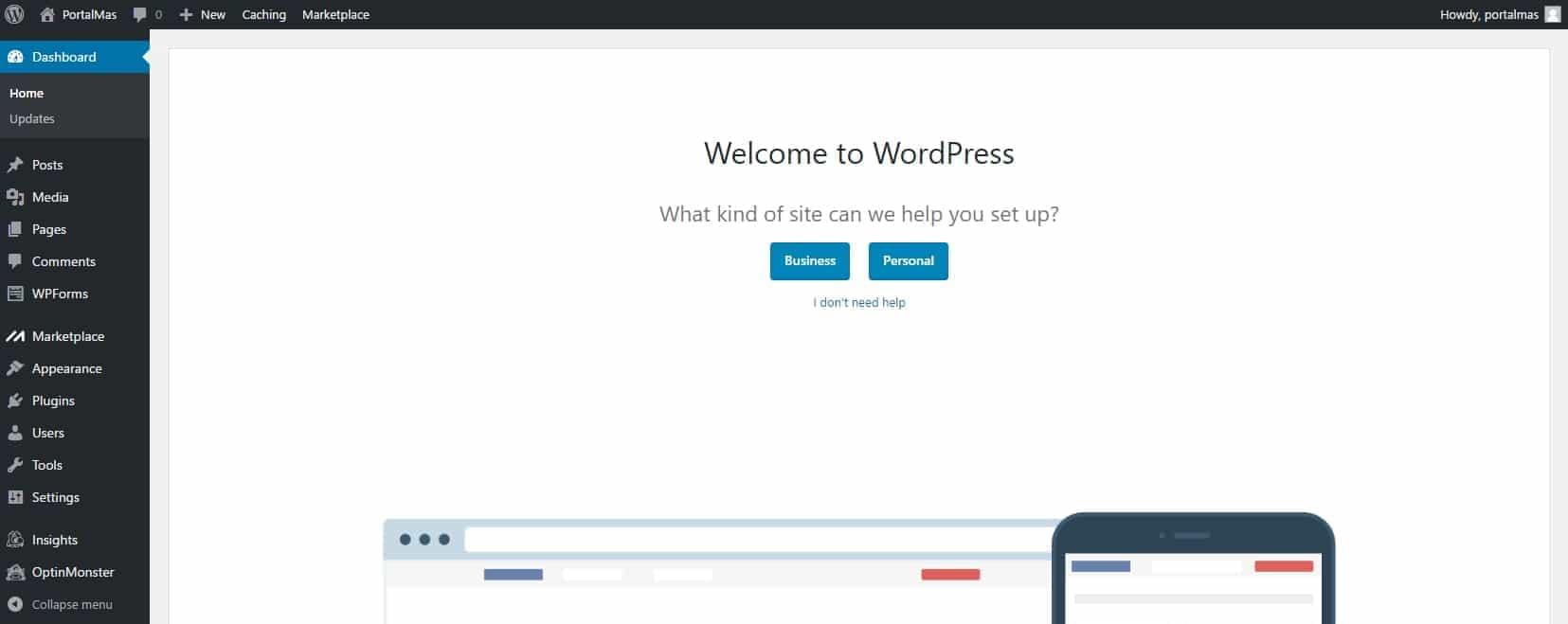 Instalar Wordpress en Hostgator Cloud Hosting paso a paso 8