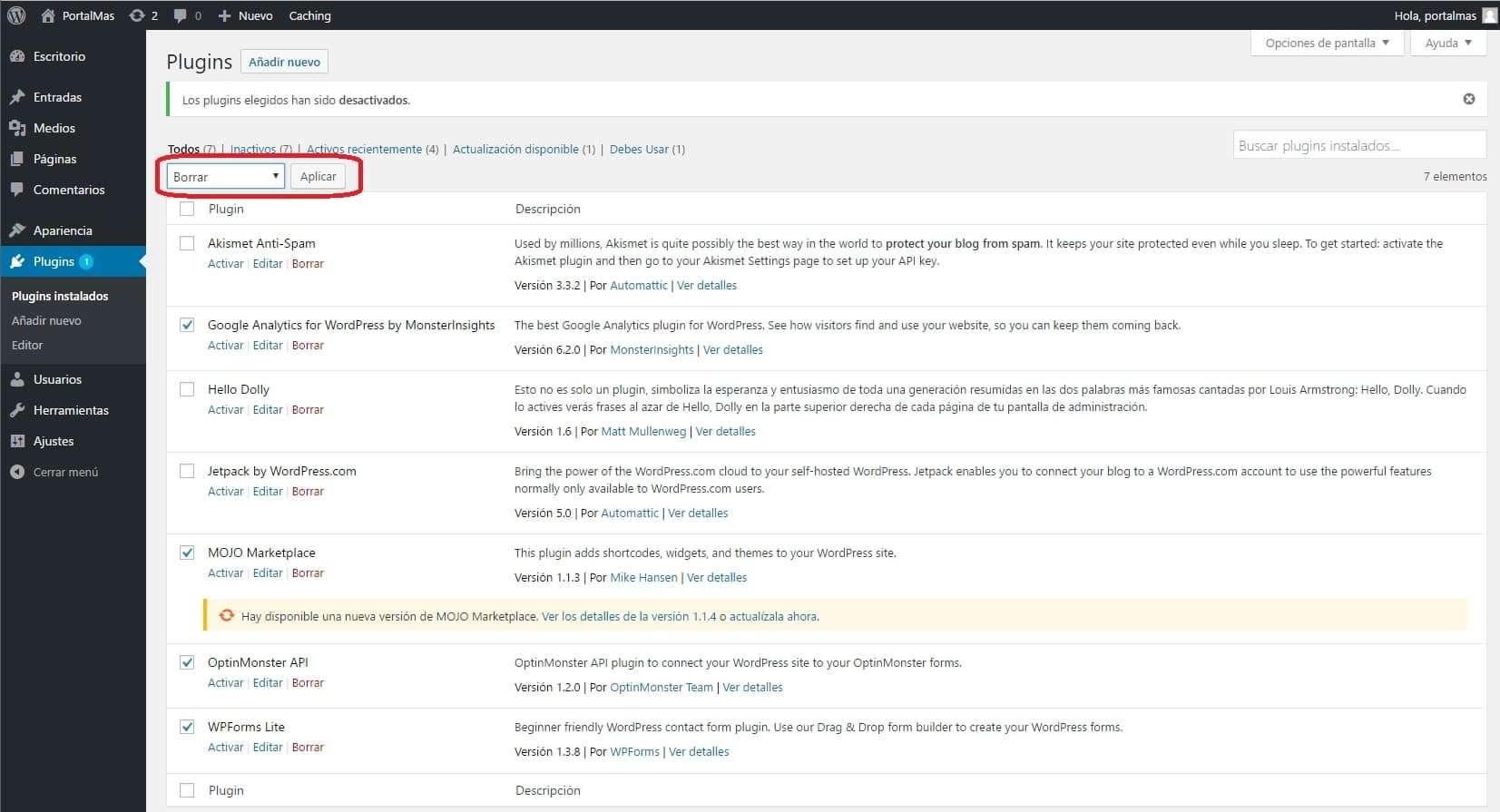 Instalar Wordpress en Hostgator Cloud Hosting paso a paso 13